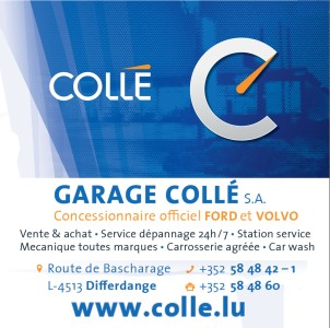 sponsors garage collé